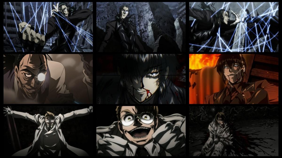 HellSing OVA 地狱之歌 皇家国教骑士团【OVA1-10+外传1-3】完结合集 HD720P 高清下载